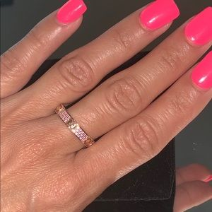 Gucci Pink Sapphire Icon Star Dust Ring